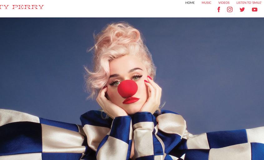 Realizzazione siti WordPress Katy Perry