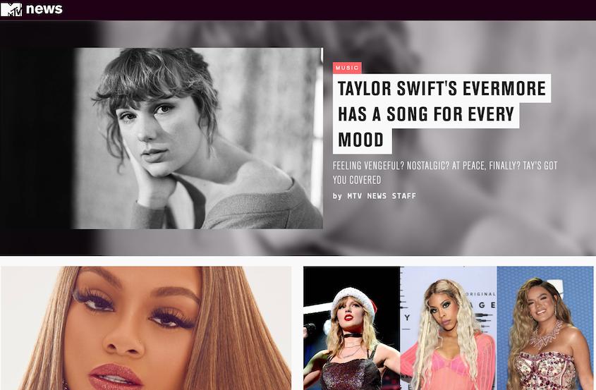 Realizzazione siti WordPress MTV News